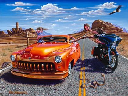 Art Prints Motorcycle Art Classic Car Art Boulder Co